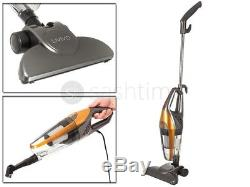 2 In 1 Hand Held Upright Bagless Compact Lightweight Vacuum Cleaner Hoover Gold