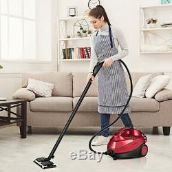 2000W Steam Mop Hand Held Cleaner Steamer Floor Carpet Wash Window Multi-purpose