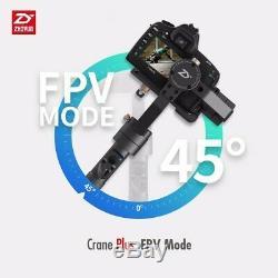 2019 Zhiyun Crane Plus 360° 3-Axis Handheld Gimbal Stabilizer for DSLR Mirrorles