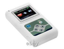 24 hours ECG holter Cardiac Monitor Portable Dynamic EKG Recorder 3 channels CE