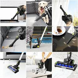 250W Cordless Handheld & Upright Vacuum Cleaner Upright Bagless Vac Hoover 17Kpa