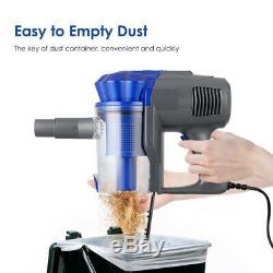 4IN1 Upright & Handheld Bagless Vacuum Cleaner 12Kpa Lightweight Hoover 600W UK
