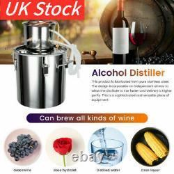 5 Gal Moonshine Still Spirits Kit Water Alcohol Distiller 2 Pot DIY Home Brewing