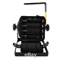 50W Rechargeable Led 2400Lum Floodlight 36LED Portable Flood Lawn Light 6000K