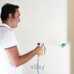 650W Commercial Airless Paint Sprayer Electric Interior Wall Air Spray Gun Kit