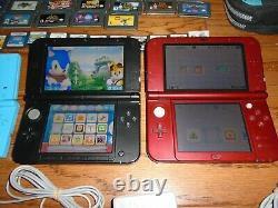 7 Nintendo handheld consoles 3DS New XL, DS Lite, GBA SP + 67 games lot bundle