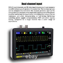 7inch 1013D 2 Channels 100MHz Band Width 1GSa/s Sampling Rate Oscilloscope C1V9