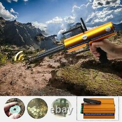 AKS Long Range Gold Metal Detector Gems Diamond Finder & 5 Antennas Handheld sz