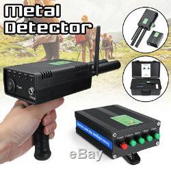 AKS PLUS Handhold Antenna Metal Gold Detector Scanner Dual Probe Depth 1000M
