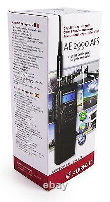 Albrecht AE-2990-AFS AM/FM/SSB handheld CB radio UK ONLY