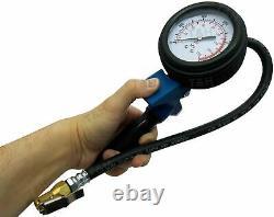 BERGEN Professional Tyre Inflator With Gauge Air Line Tyre Pump High PressureHGV