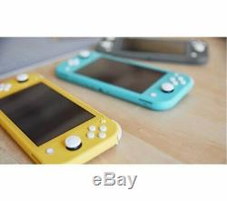 Brand New Nintendo Switch Lite Handheld Console Grey & Yellow