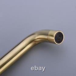 Brass Bathroom Bathtub Mixer Taps Bath Filler Spout And Handheld Shower Set UK
