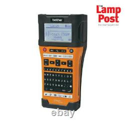 Brother PT-E550WVP Handheld Industrial Electrician Label Printer Labelling
