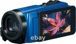 CANON VIXIA HF W10 Waterproof HD Camcorder Blue