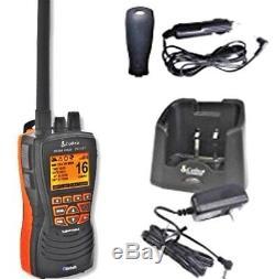 Cobra HH600E VHF DSC GPS Bluetooth Floating Handheld Marine Radio