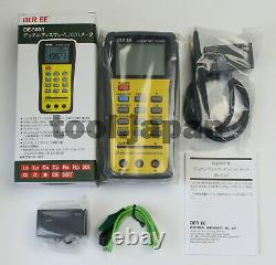 DER EE DE-5000 Handheld LCR Meter with TL-21 TL-22 TL-23 New in the box
