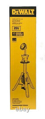 DEWALT 20V MAX Cordless Tripod Light DCL079B Tool Only Brand New In Box