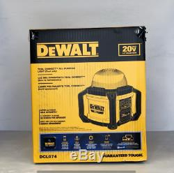 DEWALT DCL074 ALL-PURPOSE CORDLESS WORK LIGHT with TOOL CONNECT(TOOL ONLY)