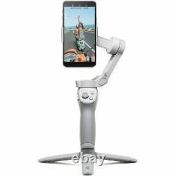 DJI OM 4 Smartphone Mobile Handheld 3-Axis Gimbal Stabilizer Grip Tripod Bundle