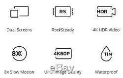 DJI OSMO ACTION Camera Handheld Stabilized HDR UHD 4K 60fps Genuine DJI Stock