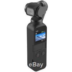 DJI Osmo Pocket Handheld 3-Axis Gimbal Stabilizer+64GB Storage&Extended Warranty