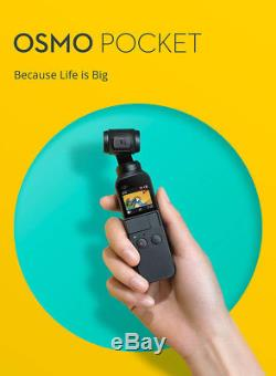 DJI Osmo Pocket Handheld Camera 3 Axis Gimbal Stabilizer 4K 60fps Video Mini Cam
