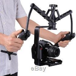 DUAL GIMBAL Handheld Stabilizer Video Spider Steadicam Steady Rig fr DSLR Camera