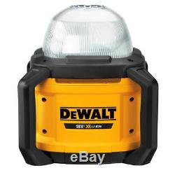 DeWALT DCL074 20-Volt 5000-Lumen All-Purpose Cordless Work Light Bare Tool