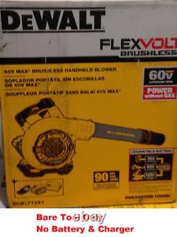 DeWalt DCBL770B FLEXVOLT 60-Volt MAX Lithium 60V Cordless Handheld Leaf Blower