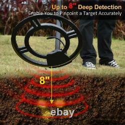 Detector De Metales Oro y Plata Control De Alta Sensibilidad Cazador De Tesoros