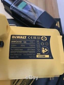 Dewalt DWC410 Hand Held Wet Circular Tile Saw 240V Body Only