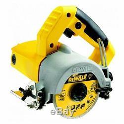 Dewalt DWC410 Hand Held Wet Circular Tile Saw 240V Body Only + DT3714 Disc