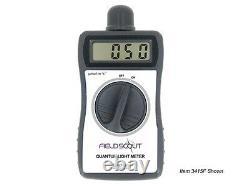 Digital Handheld Quantum Meter, PAR Meter, Solar Light, Lightscout