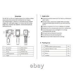 Digital LCD Handheld Thermal Imaging Camera Infrared Thermometer Imager Tool