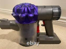 Dyson V6 Cordless Handheld Hoover Vacuum Cleaner New Battery Cleaned With Tools