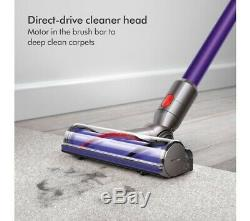 Dyson V7 Animal PLUS Bagless Cordless Vacuum Cleaner in Purple 2 Year Warranty