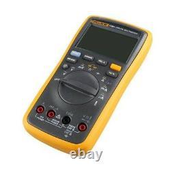 FLUKE F17B+ Digital Multimeter Meter Tester wth LCD Display Temperature, CAT III