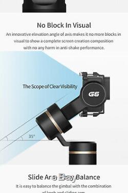 Feiyu G6 3-Axis Handheld Splashproof Gimbal Stabilizer for Gopro Hero Action Cam
