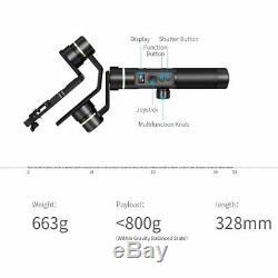 FeiyuTech G6 Plus 3-Axis Stabilized Handheld Gimbal for Gopro mirrorless camera