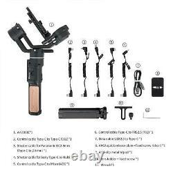 Feiyutech AK2000C Gimbal 3-Axis Handheld Camera Stabiliser DSLR DSLM 2.2kg