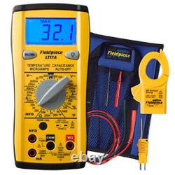 Fieldpiece LT17A Digital Multimeter, withTemp, MFD, Microamps, & Freq