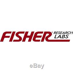 Fisher Gold Bug 2 II Metal Detector with 6.5 and 10 Elliptical Search Coils