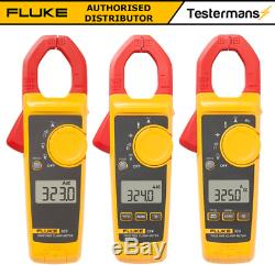 Fluke 323 324 325 Digital True RMS Clamp Meter + Test Leads + Carry Case LDMC33