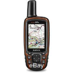 GARMIN GPSMAP 64s Handheld GPS Receiver Navigaror Compass Alt 010-01199-10 NEW