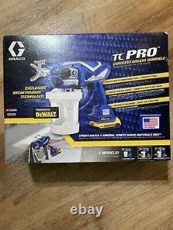 GRACO TC Pro Cordless Handheld Airless 20V Paint Sprayer 17N166 New