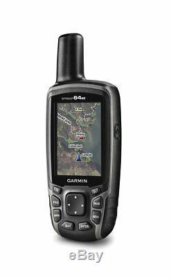 Garmin 64st, TOPO US 100K Maps, High-Sensitivity Handheld GPS, GLONASS Receiver