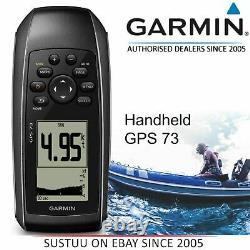 Garmin GPS 73 Marine Handheld GPS NavigatorSailAssist/ FloatingIPX7 Waterproof