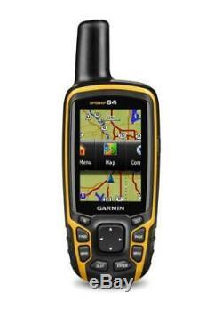 Garmin GPSMAP 64 Handheld GPS&GLONASS Receiver Navigator 010-01199-00 Hiking