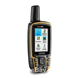 Garmin GPSMAP 64 Handheld With GPS and GLONASS Capabilities 010-01199-00